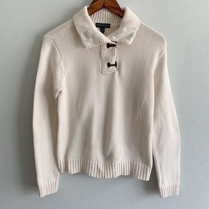 Lauren Jeans Company Sweater with Brass Hardware